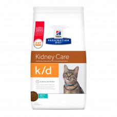 Hill's Prescription Diet k/d Kidney Care Tuna 1,5кг для взрослых кошек при заболеваниях почек с тунцом