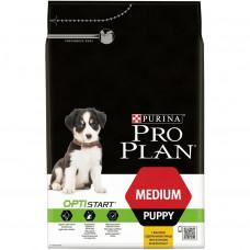 Pro Plan Medium Puppy 1,5 кг с курицей, Проплан для щенков