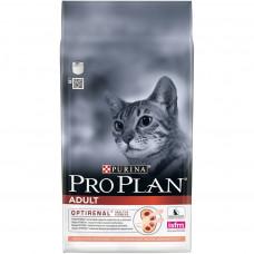 Pro Plan Original Adult OPTIrenal Salmon для взрослых кошек с лососем и рисом 400г , Проплан для кошек