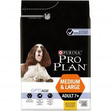 Pro Plan Medium&Large Adult 7+ 3кг с курицей и рисом