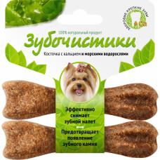 Зубочистки д/собак мелких пород с Морские водоросли 2шт