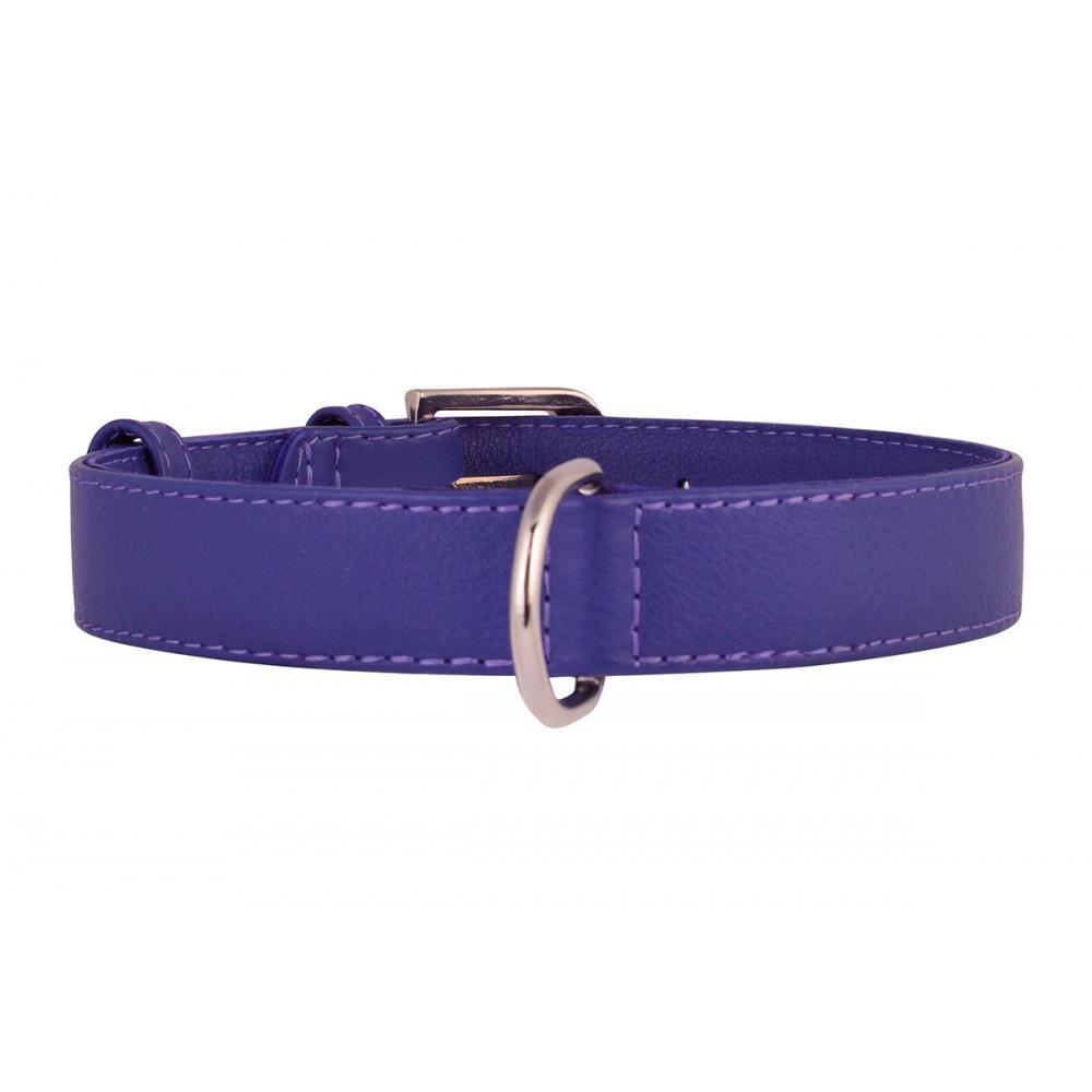 Collar WauDog Classic 0217 9 ошейник д/соб кож ш20 мм, дл30-39см