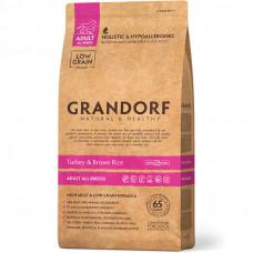Grandorf Adult All Breeds Turkey&Brown Rice 1кг для взрослых собак всех пород индейка/рис