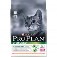 Pro Plan Sterilised Salmon для стерилизованных кошек с лососем 400гр, Проплан для кошек