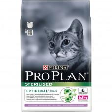 Pro Plan Sterilised Turkey для стерилизованных кошек с индейкой 400г, Проплан для кошек