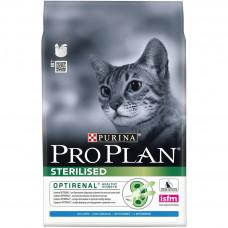 Pro Plan Sterilised Rabbit 1,5кг для стерилизованных кошек с кроликом, Проплан для кошек