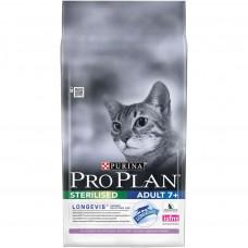 Pro Plan 7+ Sterilized Cat Turkey 3кг для стерилизованных кошек старше 7 лет с индейкой, Проплан для кошек