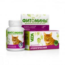 ФитоМины урологический для кошек 100таб.