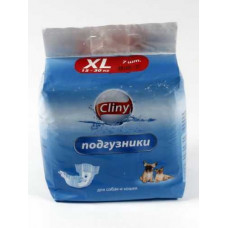Подгузники Cliny размер XL 7 шт