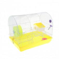 Клетка для грызунов, размер клетки / 47*30*39/(Код 19)