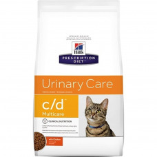 Hill's Prescription Diet c/d Multicare Urinary Care Chicken для взрослых кошек при МКБ 1,5кг