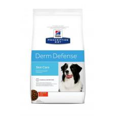 Hill's Prescription Diet Derm Defense Skin Care 2кг для взрослых собак при атопическом дерматите и аллергиях на внешние раздражители