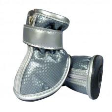 Ботинки д/соб. серебрянные 40*30*40мм,YXS070-0,Триол