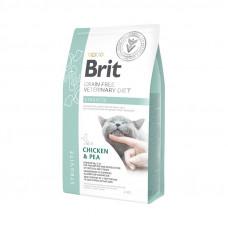 Brit VDC GF Struvite 2кг беззерновой для взрослых кошек для растворения струвитов, с курицей и горохом