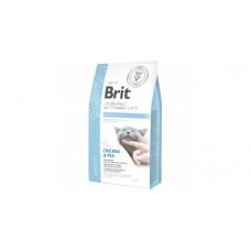 Brit VDC GF Obesity 400г беззерновой для взрослых кошек при избыточном весе и ожирении, с курицей и горохом