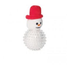 """Triol Игрушка""""NEW YEAR""""для собак""""Снеговик в броне"""",мягкая,165мм"""