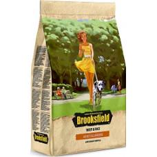 Brooksfield Adult All Breeds 800гр для взрослых собак всех пород с говядиной и рисом