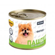 """Мнямс Консерва паштет для собак из телятины""""Фитнес"""",220гр"""