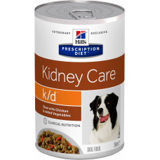 Hill's k/d 354 г для собак лечение почек рагу