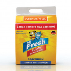 Mr.Fresh super пеленки 90*60 6 шт