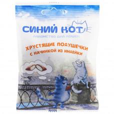 TitBit Подушечки хрустящие Синий кот из индейки.д/кош.30гр, Титбит
