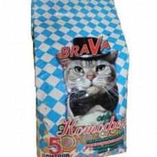 Brava Сэр Котофей наполнитель для кошек 5л , Брава для кошек