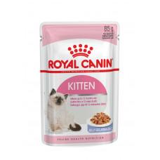 Royal Canin Kitten 85 г кусочки в желе для котят: 4-12 мес.,  , Роял Канин  для котят (консервы, пау