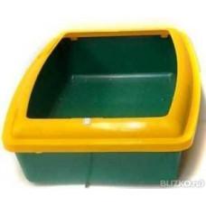 Туалет Вака глубокий с бортом (Лотки, Туалеты)