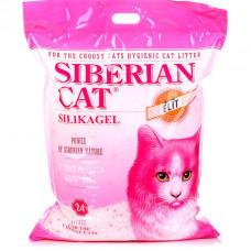 Сибирская Кошка Элит(розовый) 24л для привередливых  Силикагелевый