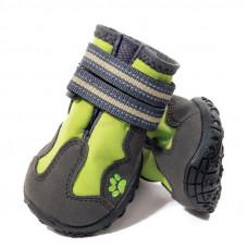 Triol Ботинки для собак зеленые XS,45*35*40мм