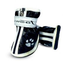 """Triol YXS083-4.Ботинки для собак черные с""""лапками"""",55*45*55мм"""