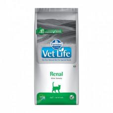 Farmina Vet Life Cat Renal для взрослых кошек при при заболеваниях почек 400г, Фармина для кошек