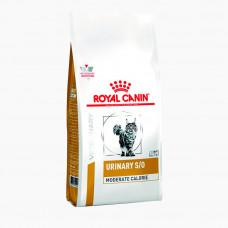 Royal Canin Urinary S/O Moderate Calorie 400г для взрослых кошек с умеренным содержанием энергии, при лечении МКБ, Роял Канин