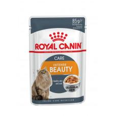 Royal Canin Intense Beauty 85 г кусочки в желе для кошек 1-7 лет : идеальная кожа и шерсть , Роял Ка