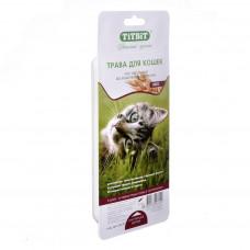 TitBit Трава для кошек (овес для проращивания) 40 г , Титбит для кошек