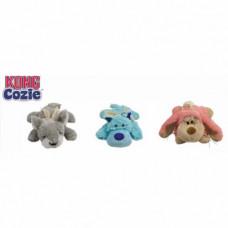 """Kong Cozie """"Пастель"""" (волк, коала, кролик) плюш, средние 15 см , Конг"""