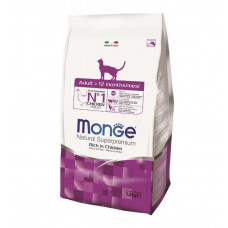 Monge Cat Adult Chicken для взрослых кошек 1,5кг, Монж для кошек