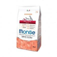 Monge Adult Mini Salmon and Rice 800г для взрослых собак мелких пород с лососем и рисом