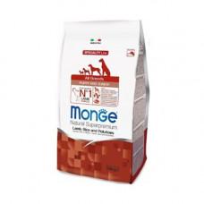 Monge Dog Puppy All Breeds Lamb 800 г Ягненок с рисом и картофелем для щенков всех  пород , Монж для