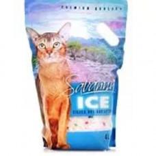 Savanna Ice Цветочный 16л силикагелевый наполнитель  , Саванна