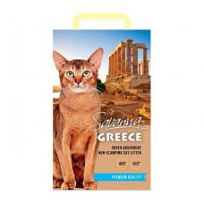 Savanna Greece Свежесть 4кг впитывающий наполнитель для кошек , Саванна для кошек