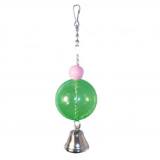 Игрушка для птиц Шарик с колокольчиком TRIOL