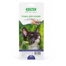 TitBit Травка для кошек (ячмень) 50 г , Титбит для кошек