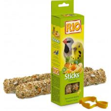 Rio Sticks палочки д/попугаев 2шт тропические фрукты