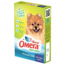 Омега NEO блестящая шерсть,для собак 90таб , Витамины для собак для кожи и шерсти
