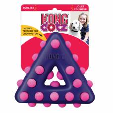 Kong Игрушка д/собак Dotz треугольник малый 11 см