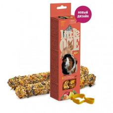 Little One Sticks палочки (м/св,крол,шинш) 2 шт с фруктами , Литл уан