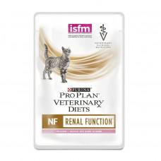 Pro Plan NF с лососем в соусе 85г при почечной недостаточности , Проплан для кошек (консервы, паучи)