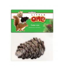 Little One Кедровая шишка - лакомство-игрушка для всех видов грызунов 50 г , Литл уан