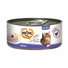 Мнямс Курица в нежном желе консервы для котят 70 г